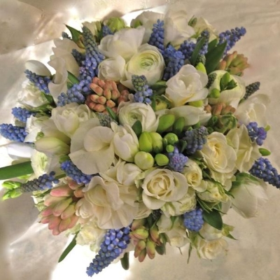 Bridal Bouquet Bluebell wood