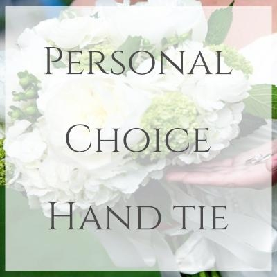 Personal Choice Hand Tie