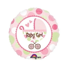 Buggy balloon girlie pink