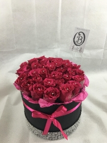 Hat Box Forever Rose
