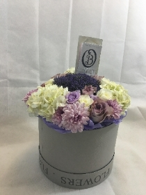 Hat Box Lilac love